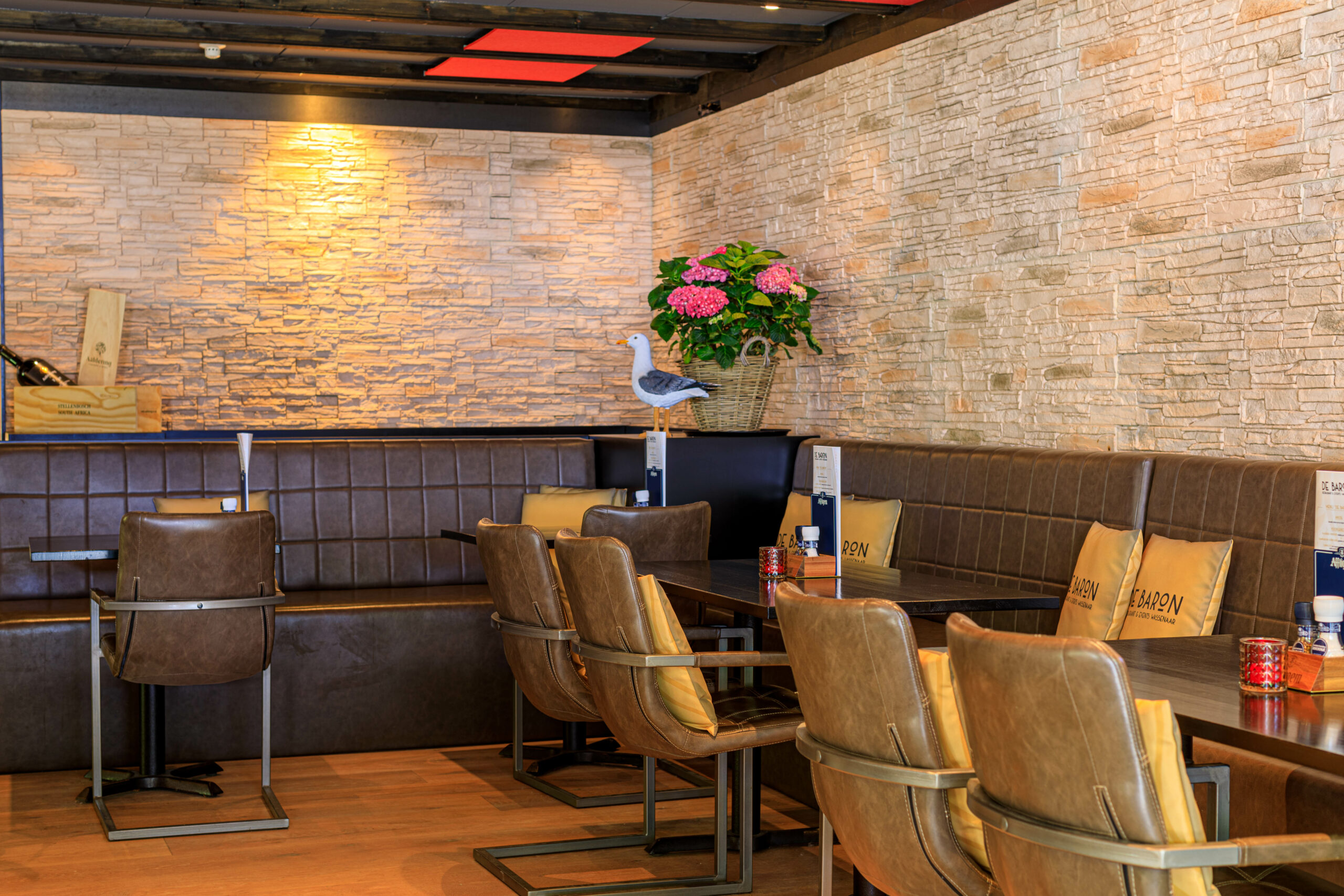 De Baron restaurant & events Wassenaar Binnen