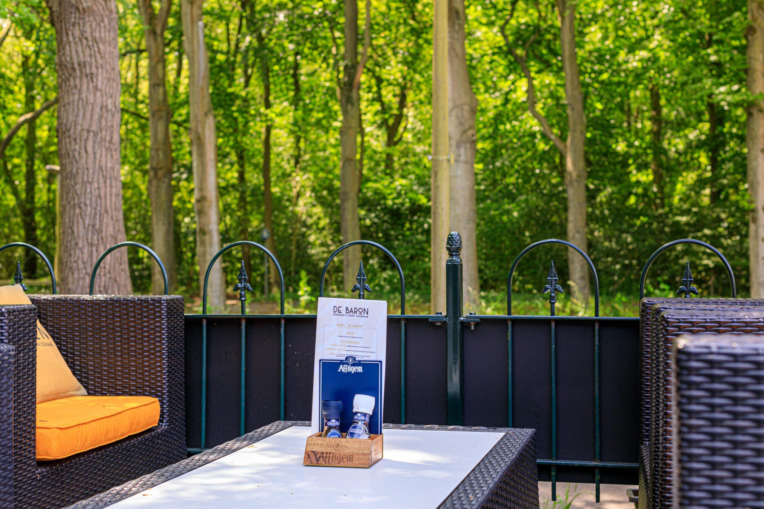 De Baron restaurant & events Wassenaar Terras Lounge