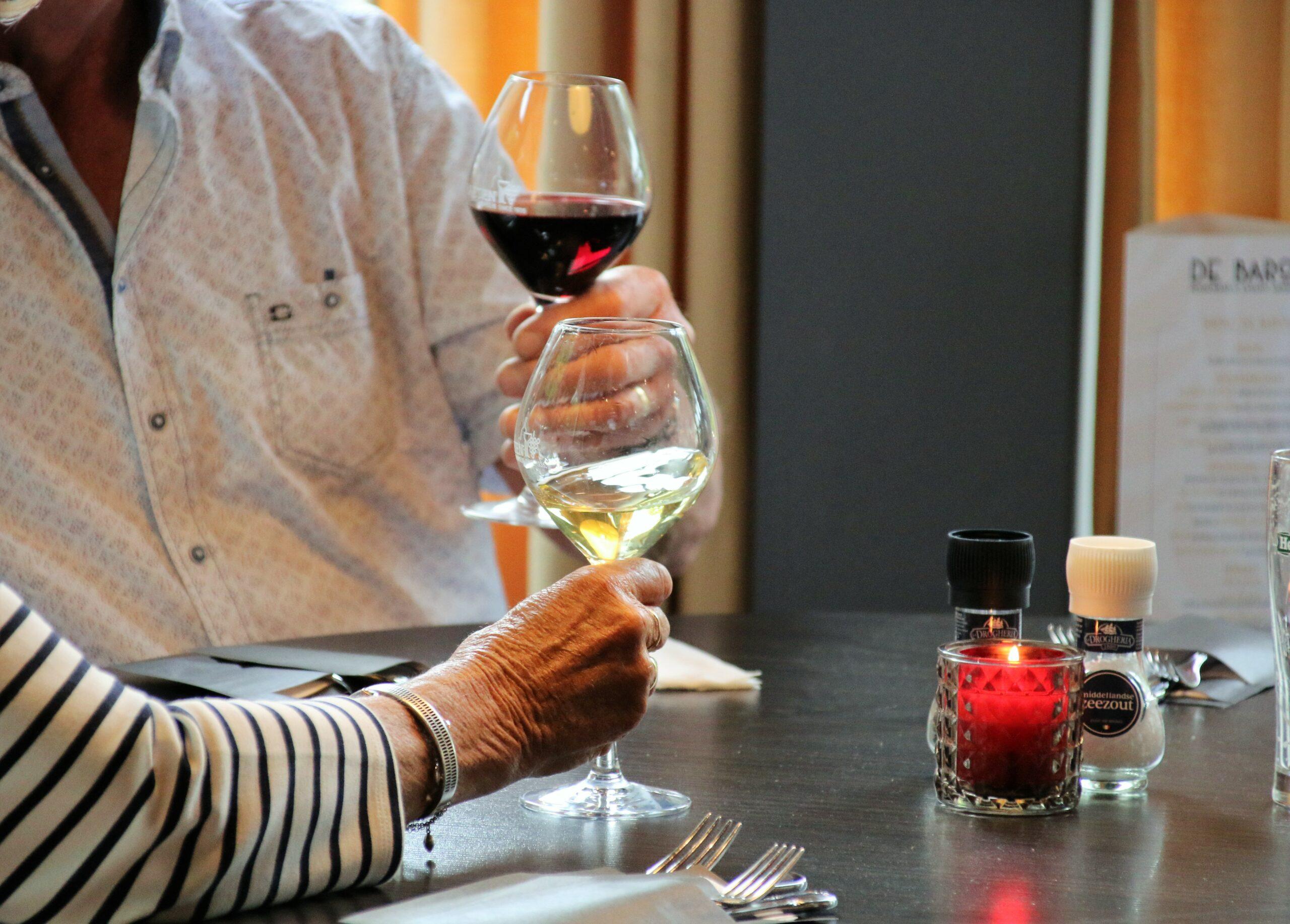Restaurant De Baron Rode en Witte Wijn